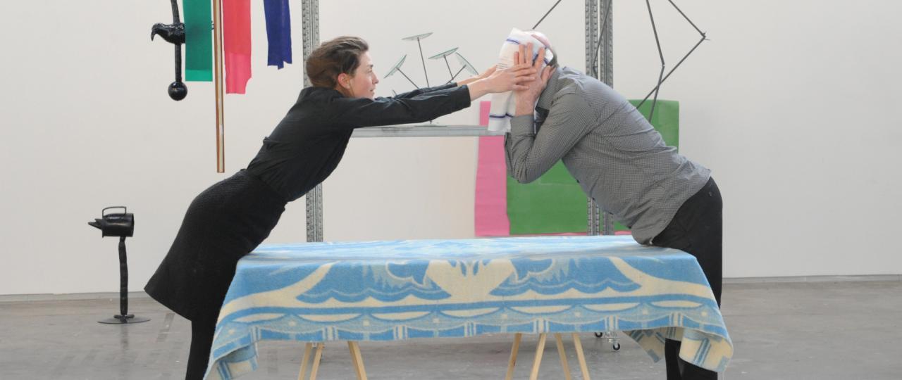 Performance Miek Zwamborn en Ton Zwerver
