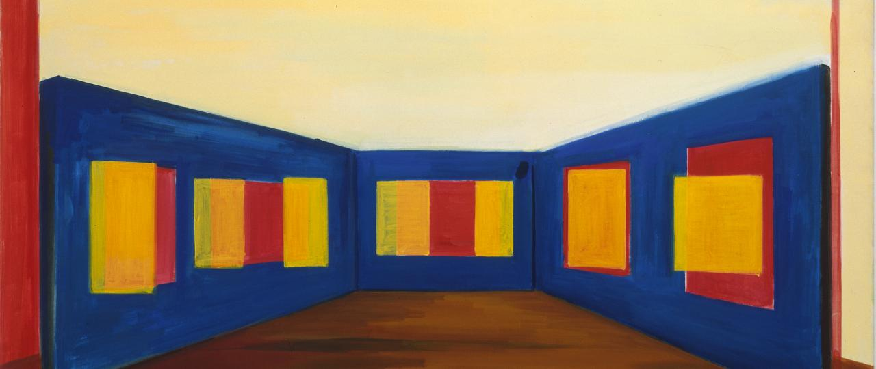 Rene Daniels, Painting on the Bullfight, 1985