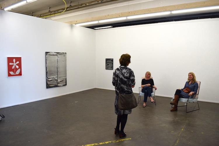 Galerie opstelling Juliette Jongma