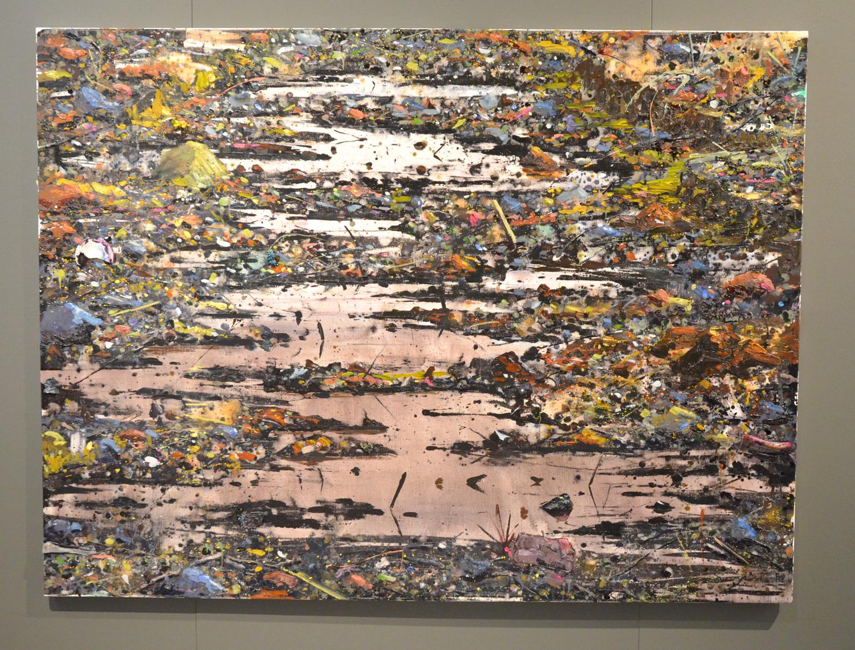 Hugo Tielman-Minning site 1-200x150cm-2014