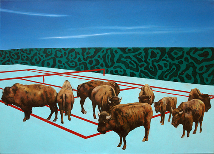 Egalite 60/80 cm Oil/canvas 2014