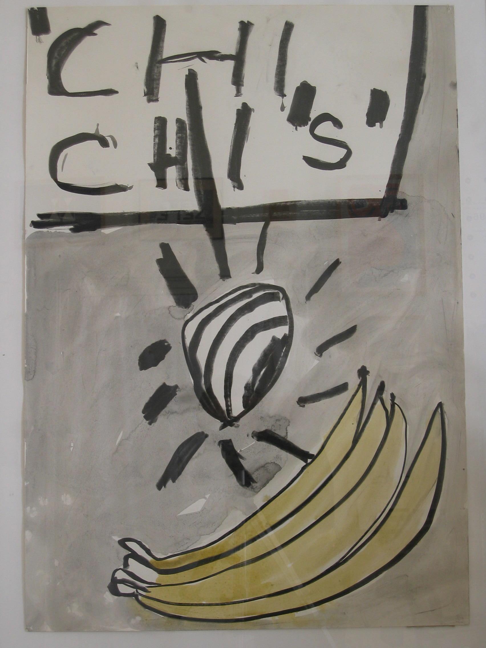 CWM Dolk, zonder titel, 1986
