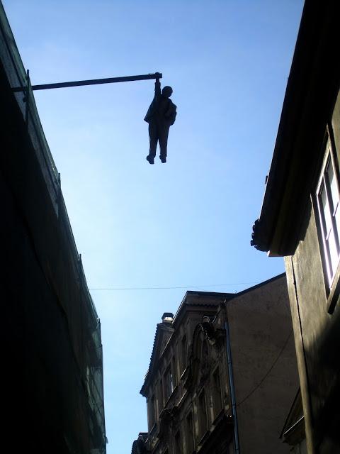 Hanging Sigmund Freud, David Cerny, Tsjechie