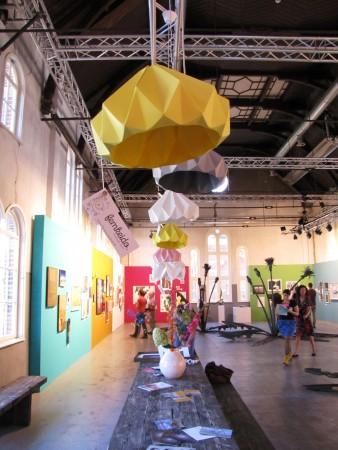 Lampen van Femkeido, Interior shop in Delft