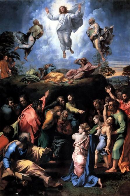 Transfiguratie, Rafaël