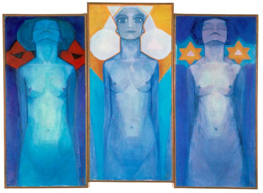 Evolutie, Piet Mondriaan