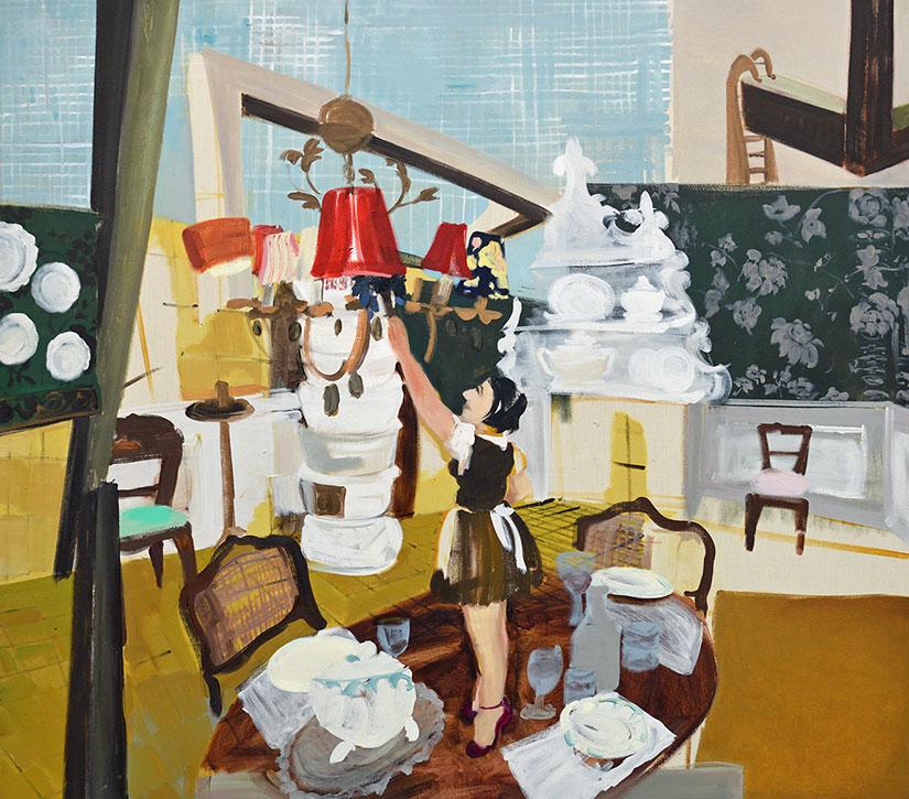 Das Leihzimmer, Andrea Freckmann