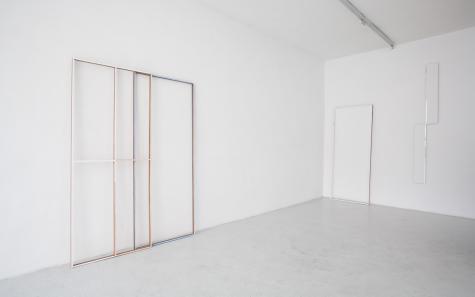 Installation view, Point de Fuite, Martin van Zomeren, Amsterdam, 2012
