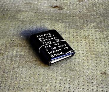 David Shrigley, Please do not Return this as I do Not Want it Back (1998)