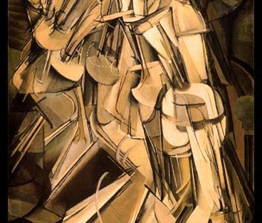Marcel Duchamp, 'Nu descendant un escalier'