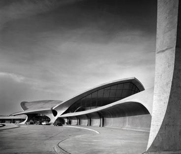 Ezra Stoller, terminal 5 gebouw op JFK